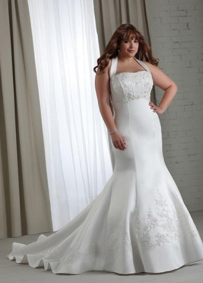 Cheap Wedding Dresses Plus Size For Under 100 - High Cut Wedding ...