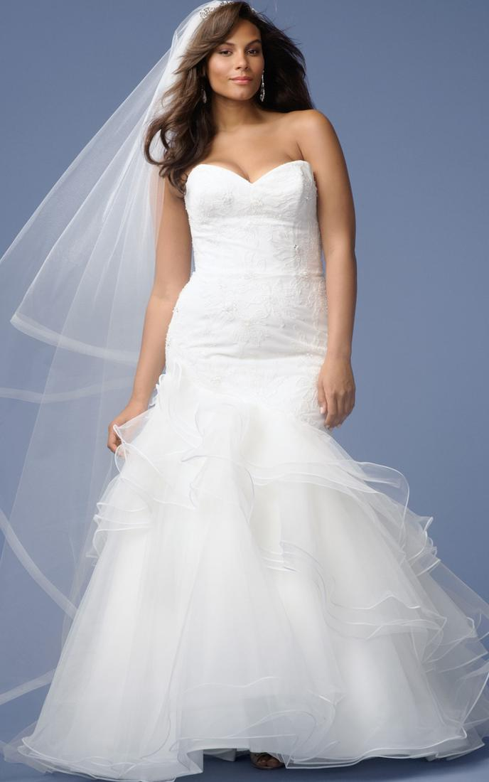 741465 - plus size wedding dresses for beach wedding