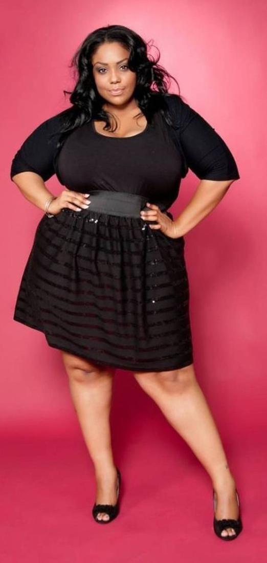 Cute Black Dresses For Plus Sizes