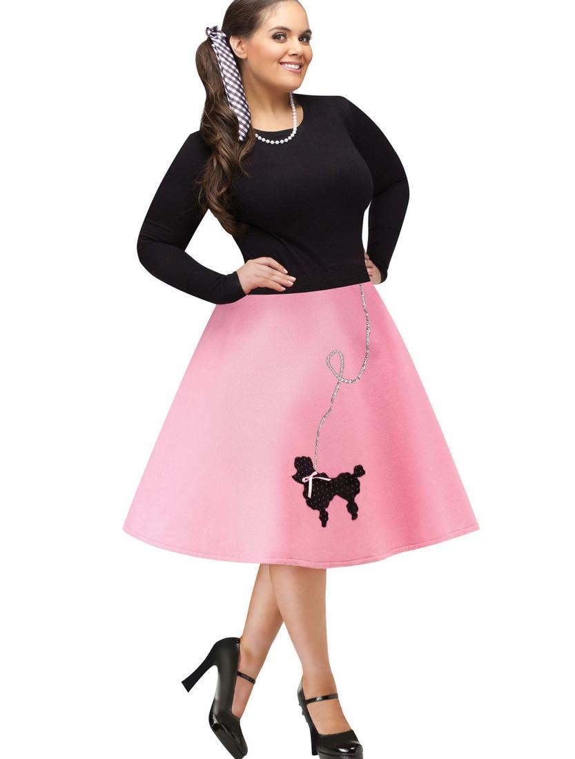 plus size fancy dress 60s greaser