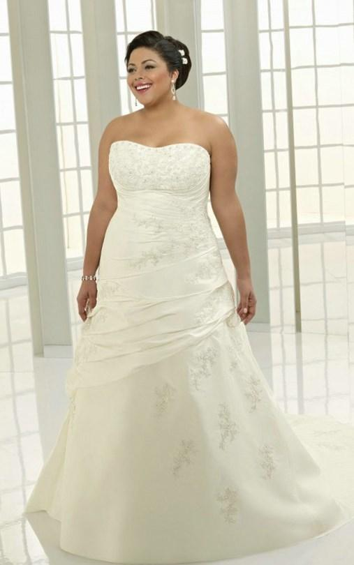 Plus size corset wedding dress - PlusLook.eu Collection