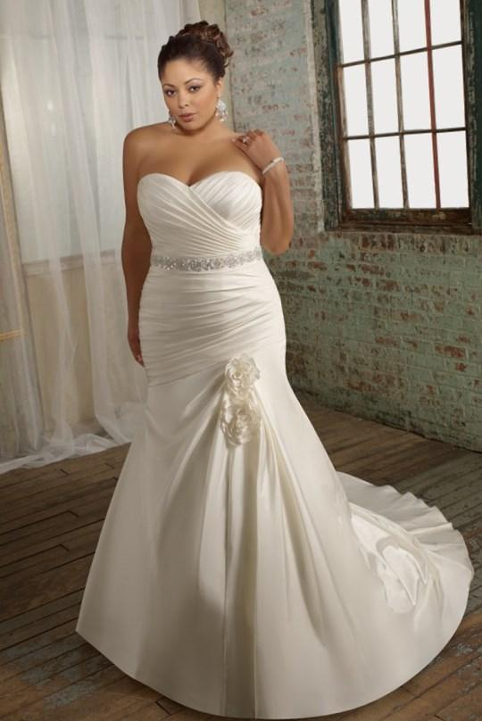 Cheap Plus Size Wedding Dresses Simple Individuality