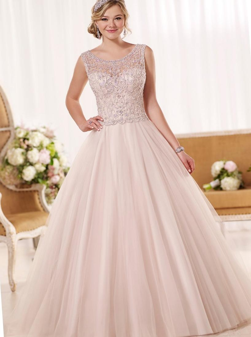 Plus size pink wedding dresses collection for What is my wedding dress size