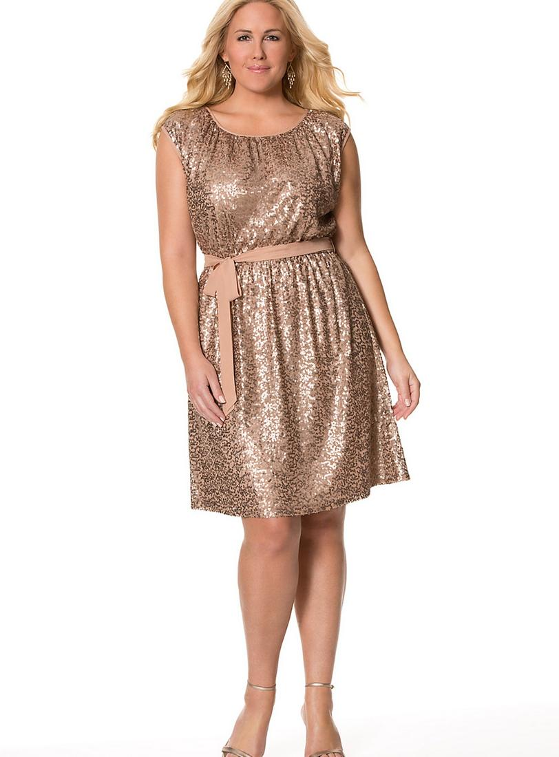 Sequence dresses for plus size - PlusLook.eu Collection