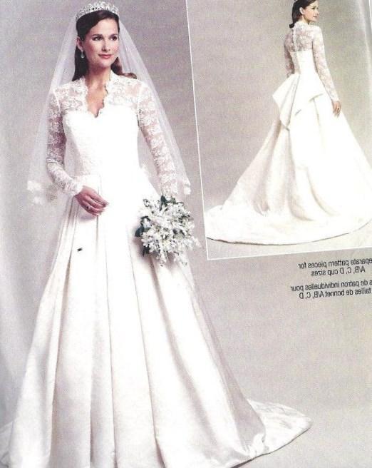 Wedding Dress Plus Size Patterns : Popular plus size wedding dress pattern buy cheap
