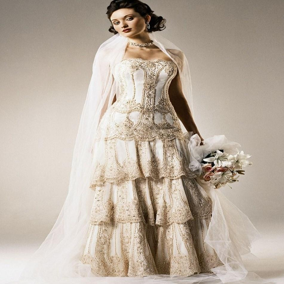 Used Plus Size Wedding Dresses: Non Traditional Plus Size Wedding Dresses
