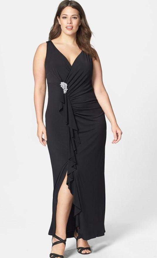 Saks plus size dresses - PlusLook.eu Collection