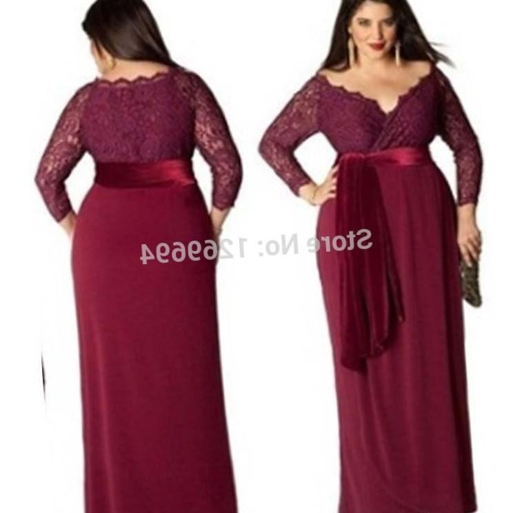 Plus Size Maid Of Honor Dress Pluslook Eu Collection