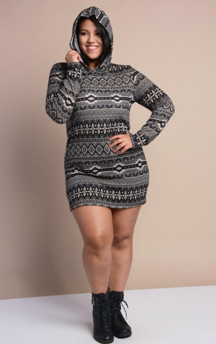 Sweater Dress For Plus Size Pluslook Eu Collection