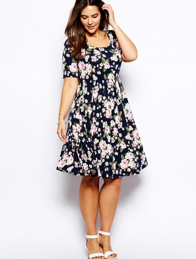 Short summer dresses plus size - PlusLook.eu Collection