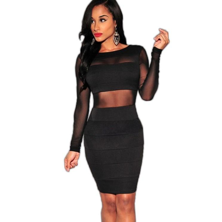 Image result for clubbing dress long sleeve