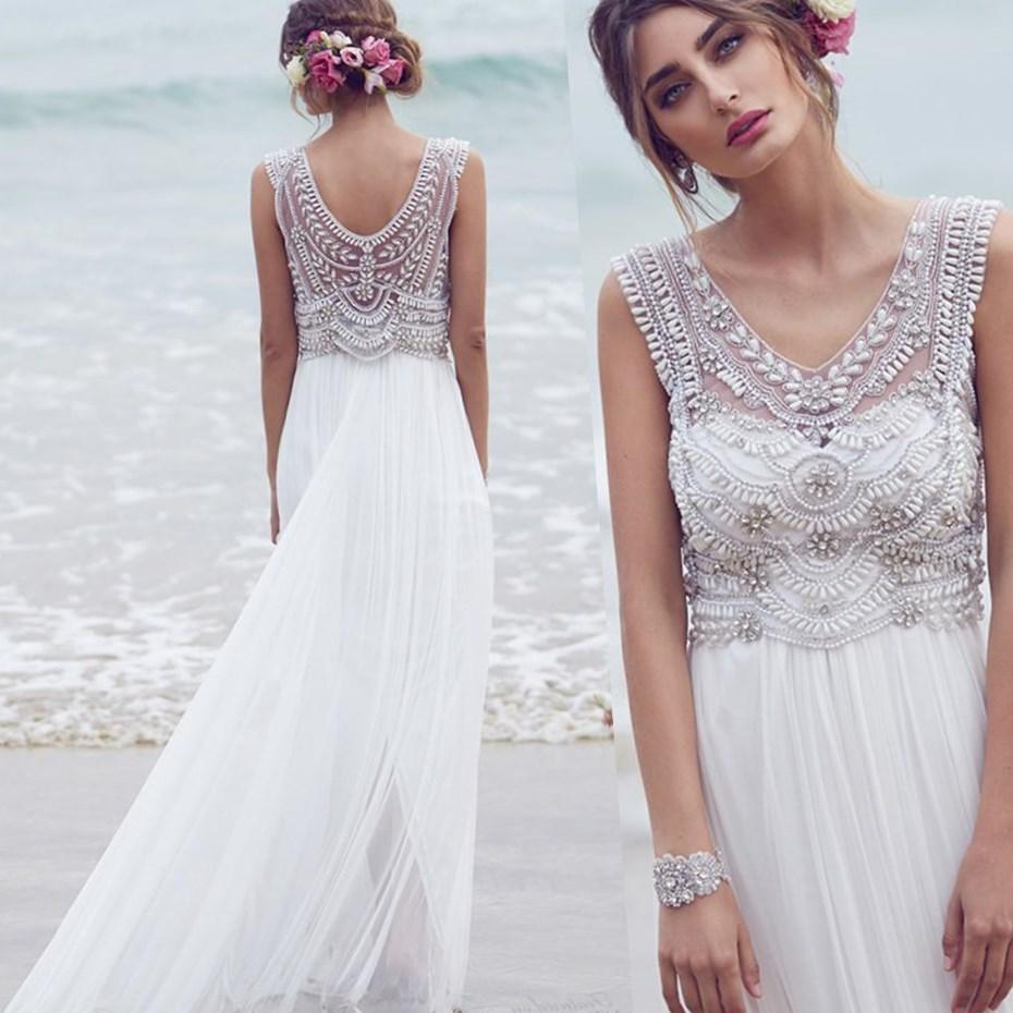 778112 - plus size wedding dresses for beach wedding