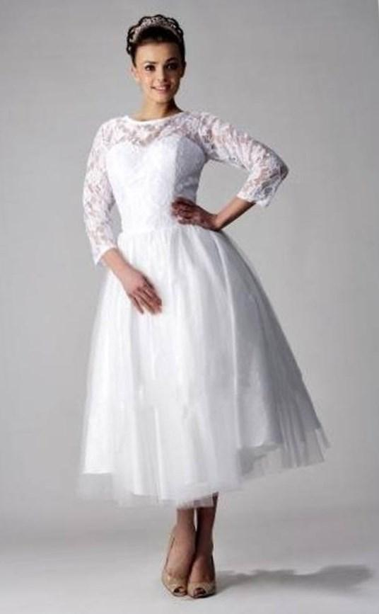 Casual Plus Size Wedding Dresses With Color Plus Size Casual Wedding