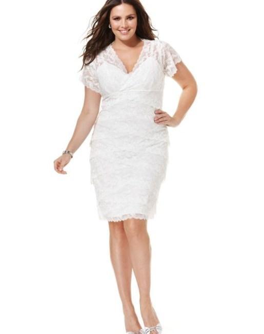 Plus size dresses macys collection for Macy s wedding dresses plus size