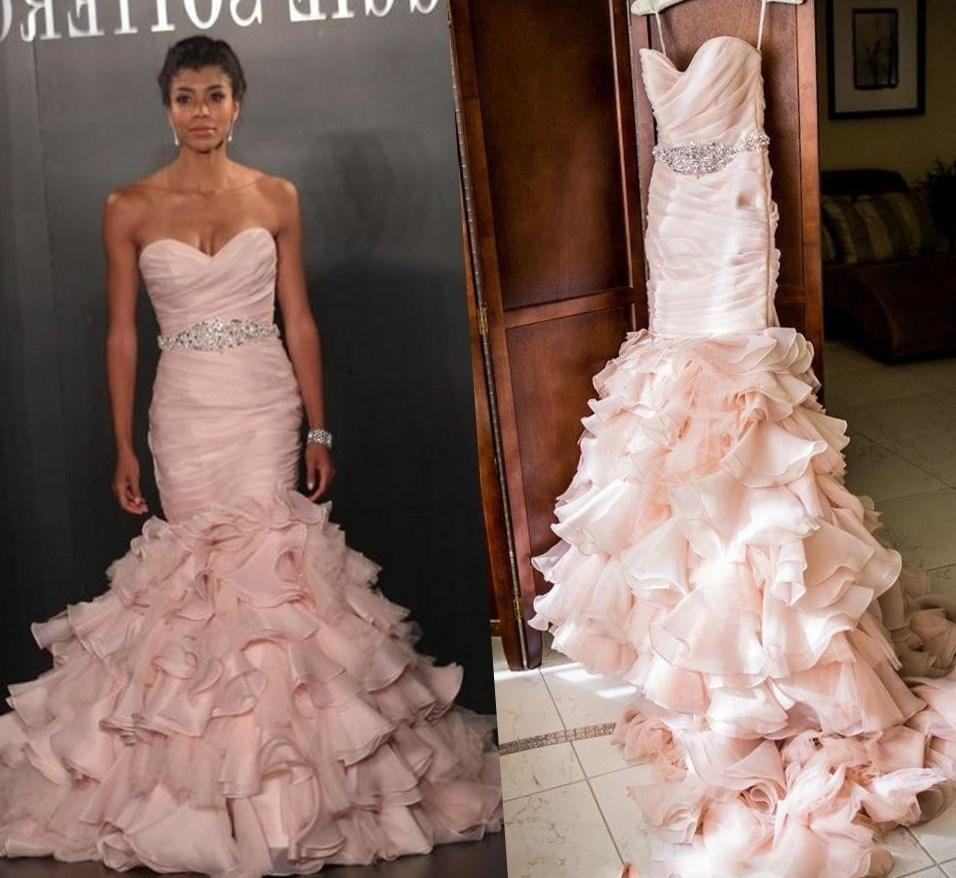 Pink plus size wedding dresses wedding dresses in jax pink plus size wedding dresses 24 ombrellifo Gallery