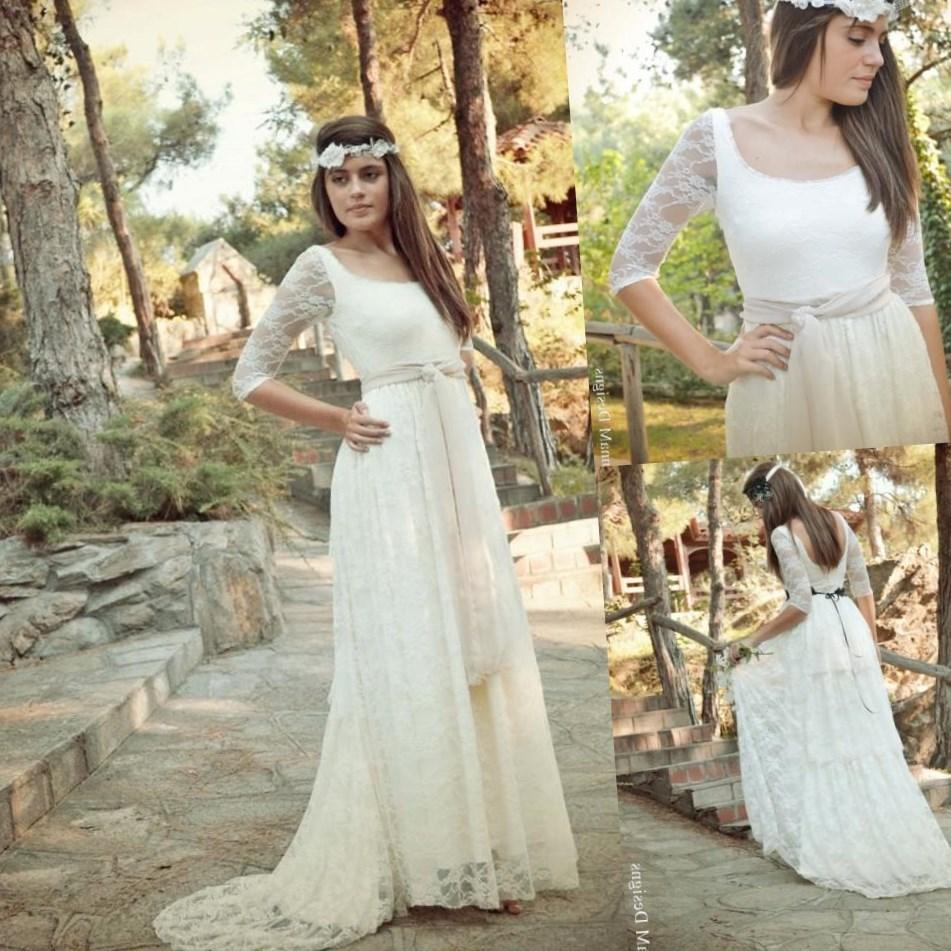 Hippie Wedding Dresses Plus Size