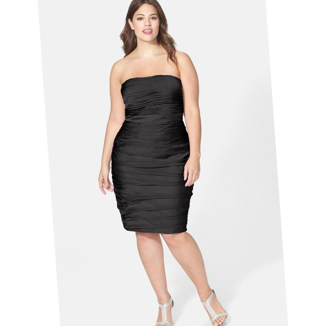 Strapless Plus Size Dresses 98