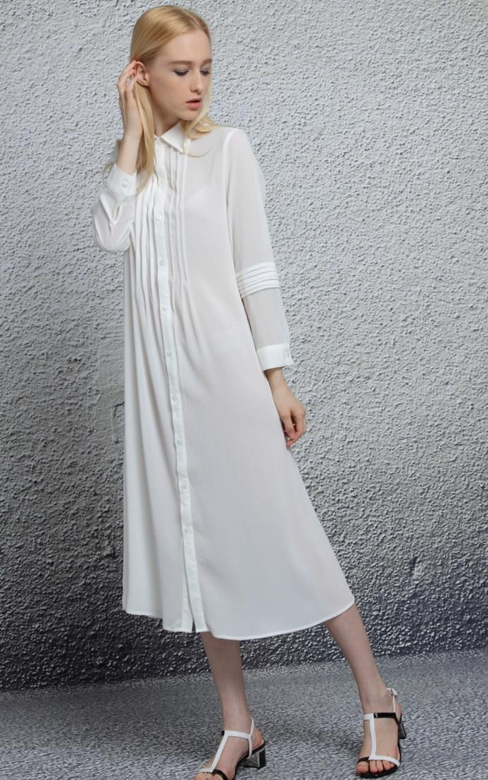 long white summer dress plus size pluslookeu collection
