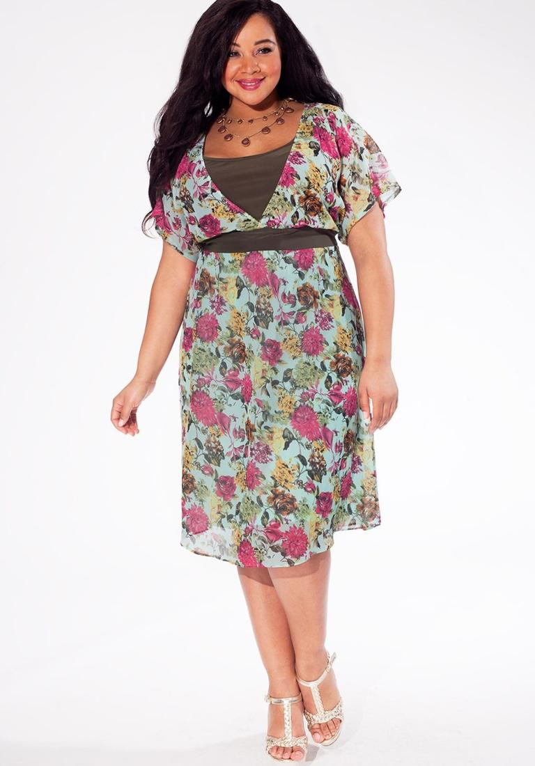 Flowy plus size dresses - PlusLook.eu Collection