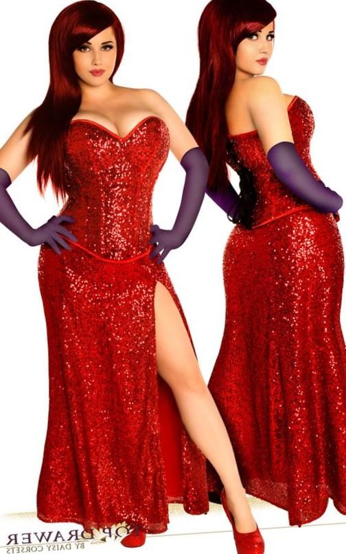My very first cosplay photoshoot dressed as Jessica Rabbit Model: me(Kate Dougherty or