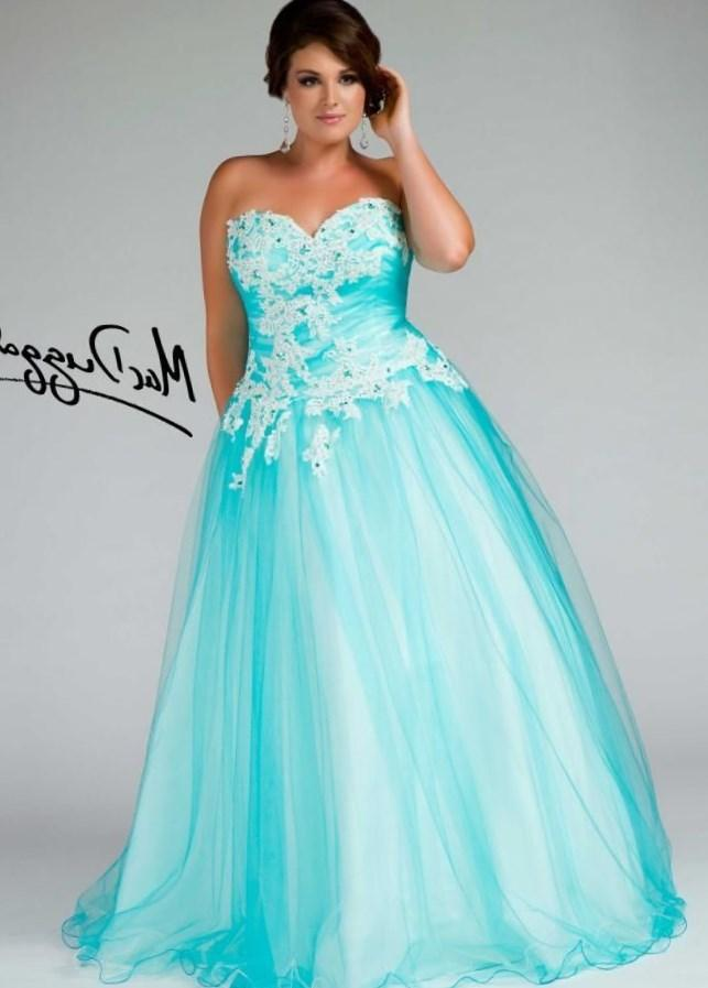 Plus size ball gown prom dresses - PlusLook.eu Collection
