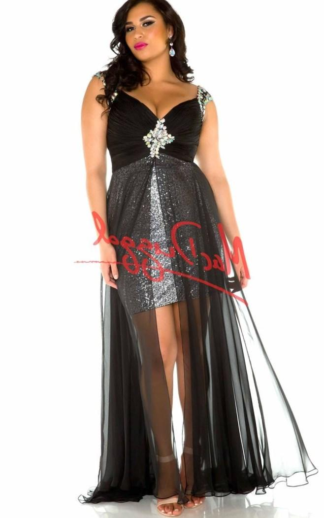 plus size high low prom dresses - Google Search: Dresses Black, Mac Duggal,