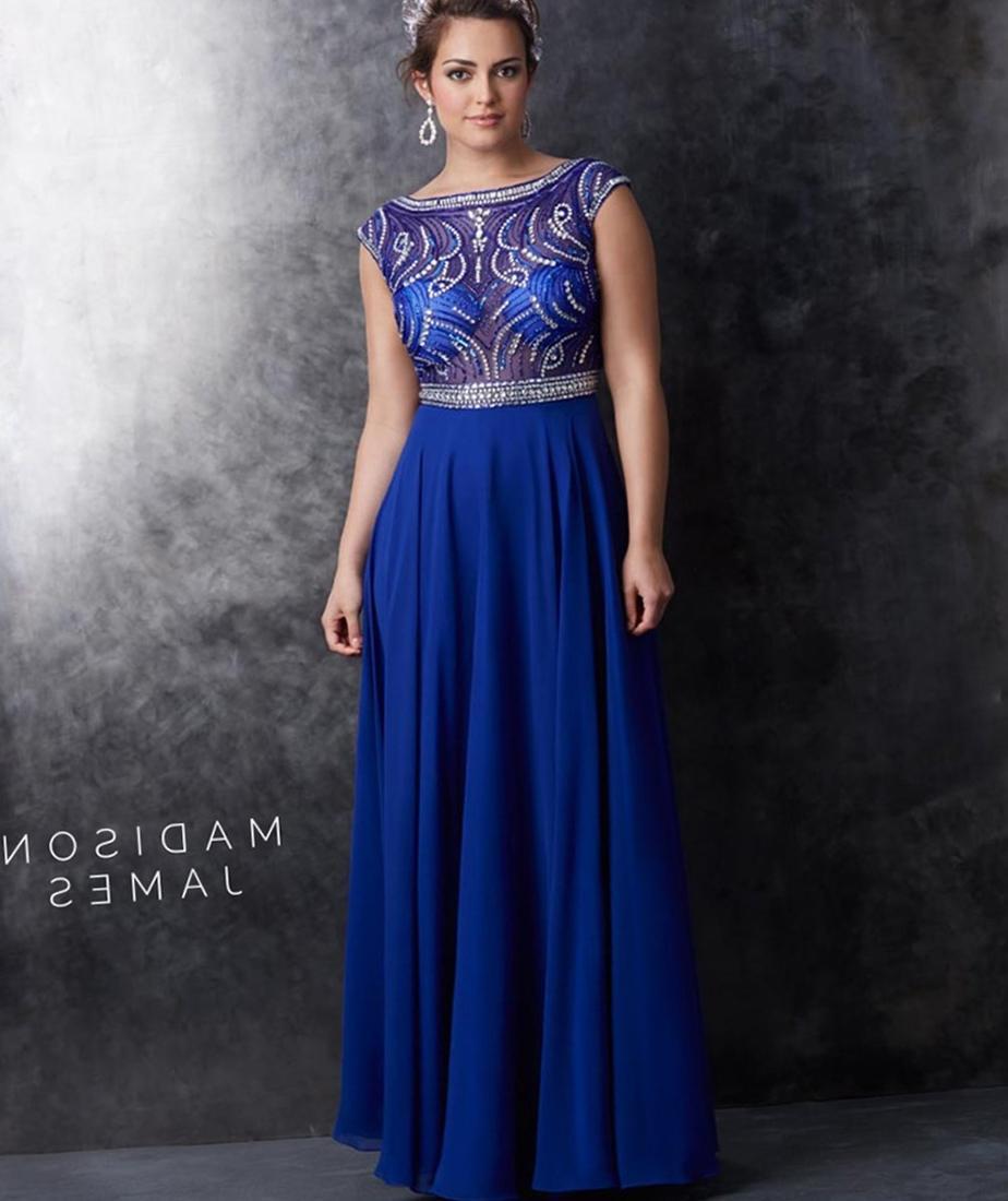 Plus size dress blue for Royal blue plus size wedding dresses