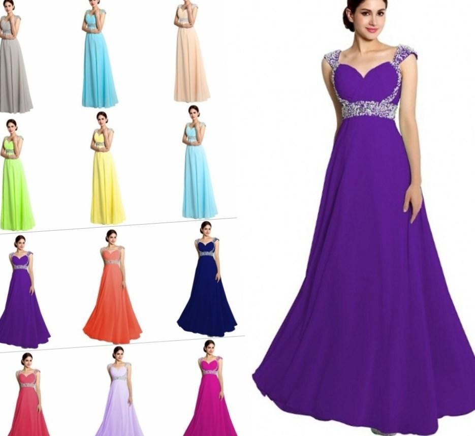 2017 Cheap Long one shoulder royal bridesmaid dress Plus Size Champagne Rose Purple Teal Turquoise Red