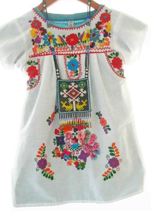 Image is loading Mexican-Blouse-off-shoulder-Women-Top-cotton-gauze-