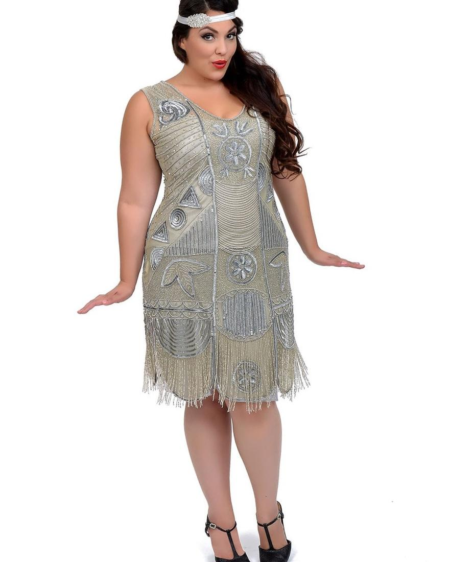 1920s dresses plus size - pluslook.eu collection