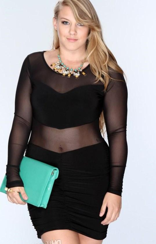 Evening dress plus size uk crop