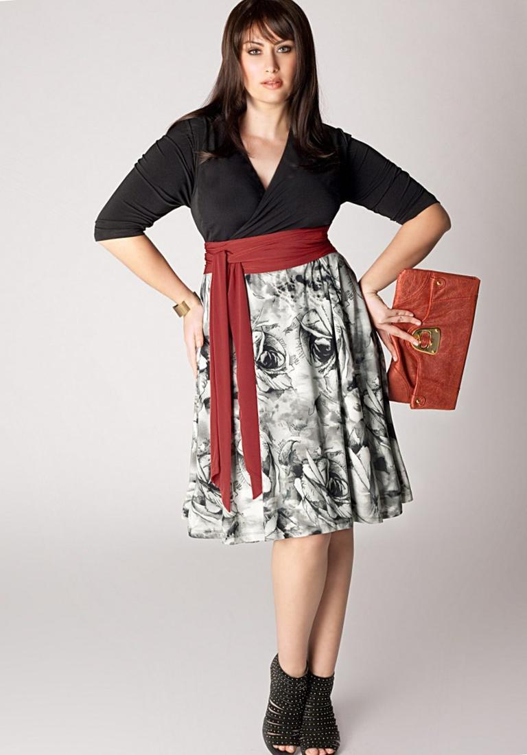 Plus Size Dress Pattern Pluslook Collection