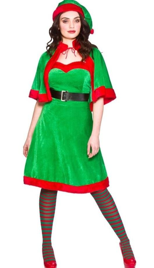 Christmas fancy dress plus size pluslook eu collection