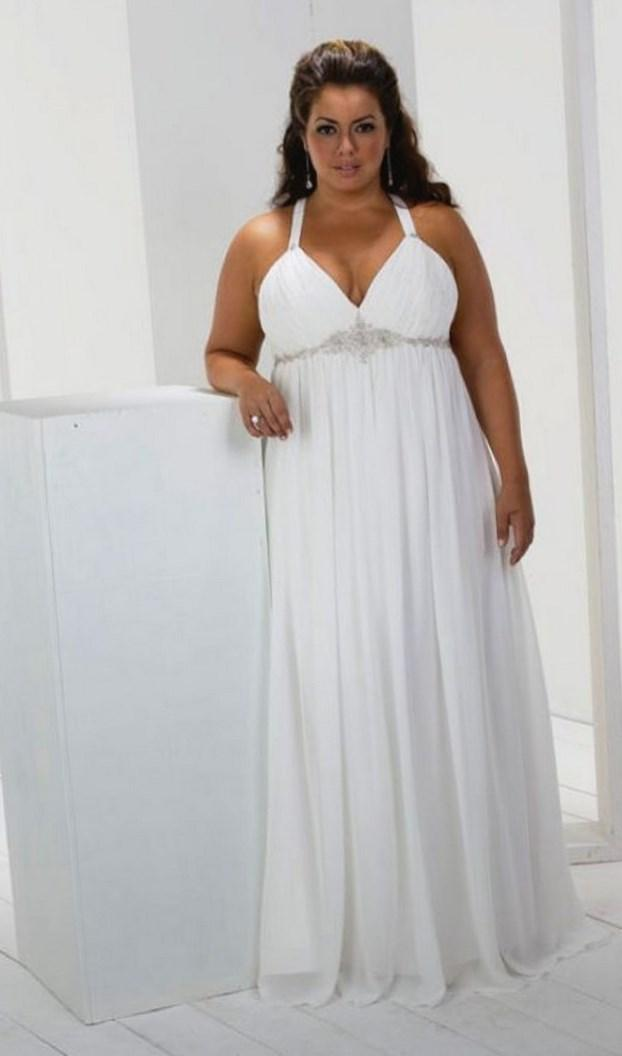 Plus Size Casual Wedding Dress Pluslook Eu Collection
