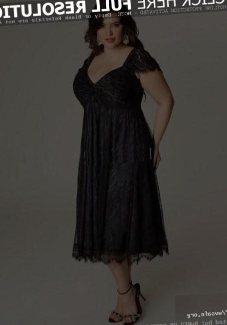 PLUS SIZE Vintage Lace Cocktail Evening Formal Party Prom Gown Bridesmaid Dress