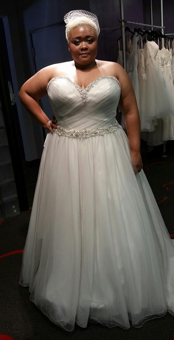 Silver Wedding Dresses Plus Size Pluslook Eu Collection