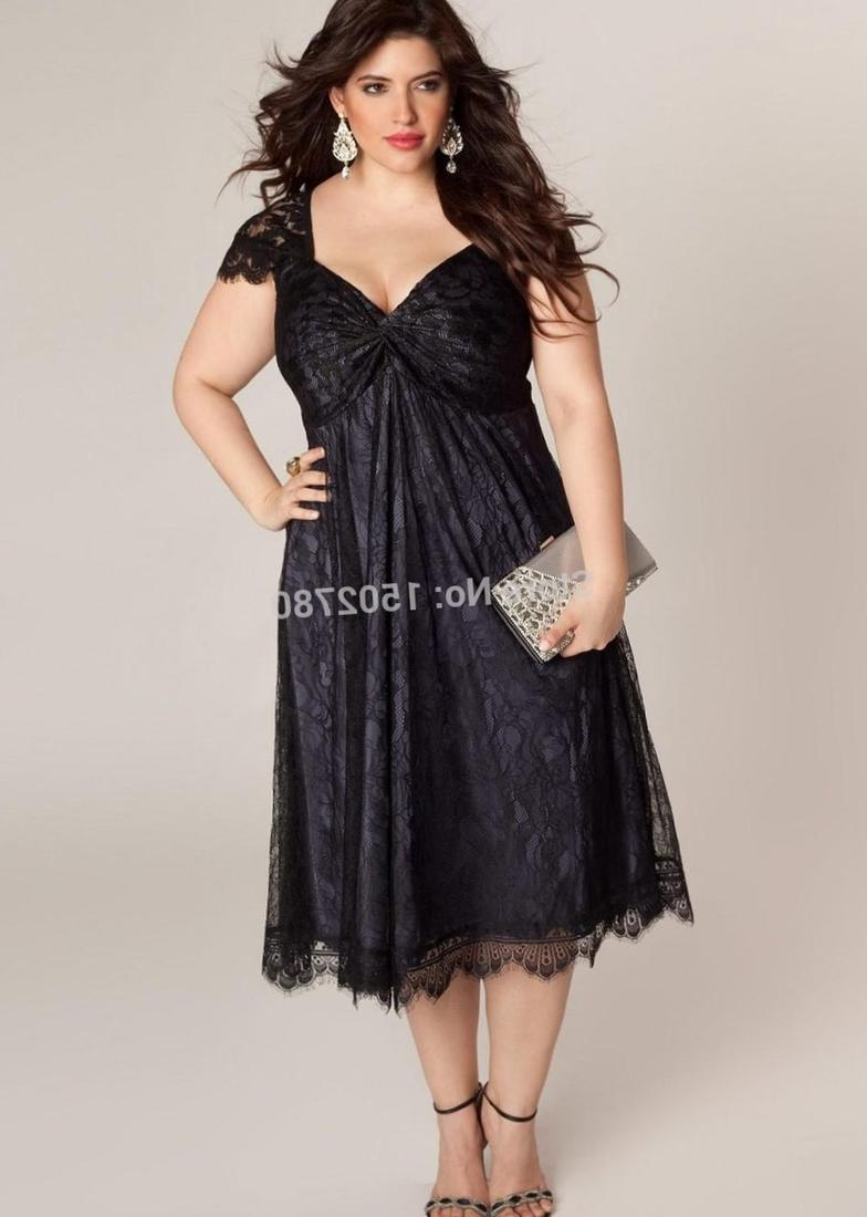 2017 New Years Eve Dresses For Plus Size Women 8