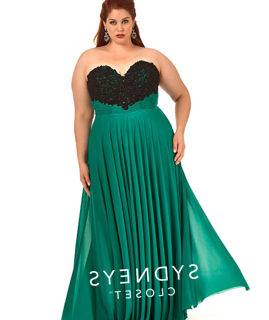Plus size ball dress - PlusLook.eu Collection