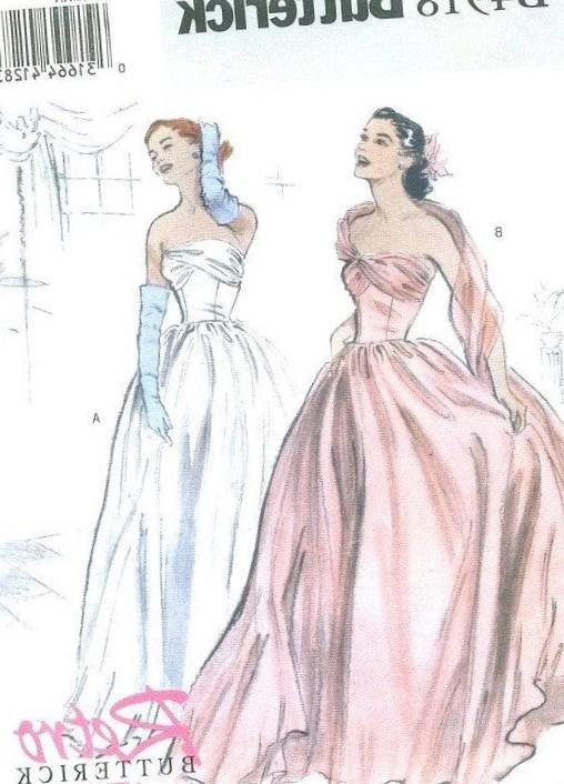 Plus Size Evening Dress Patterns Collection