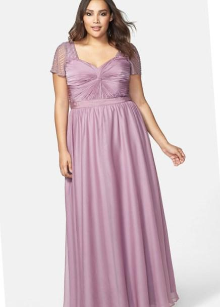 Girl Plus Size Graduation Party Dresses 14