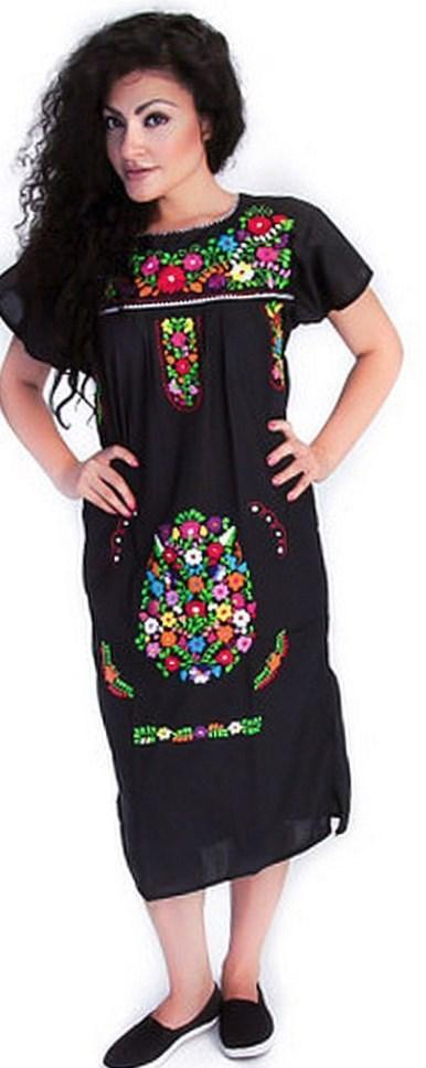 Lijera Libre Плюс Размер Мексиканская Блузка-Фуксия
