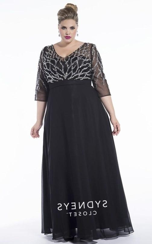 Finally a Plus Size Prom Dress with Sleeves!!! The elegant Kris Evening Gown