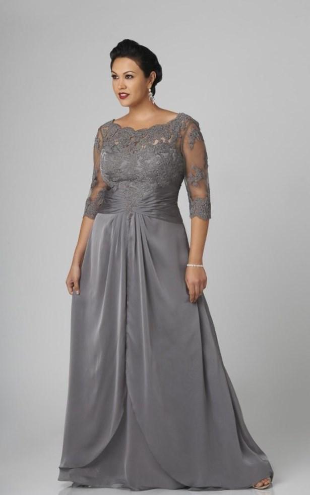 Plus Size Modest Dress Pluslook Collection