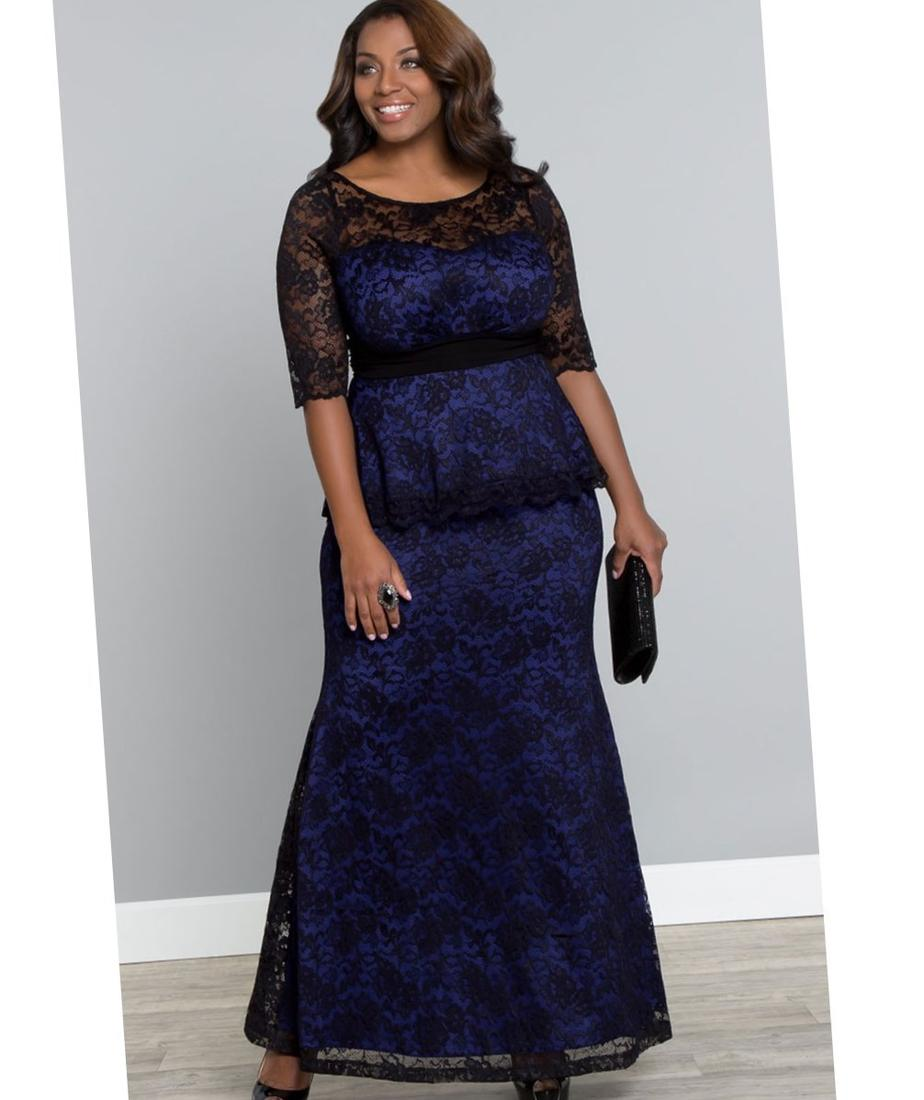 Custom Plus Size Special Occasion Dresses With Sleeves New In Peplum Dress Ideas