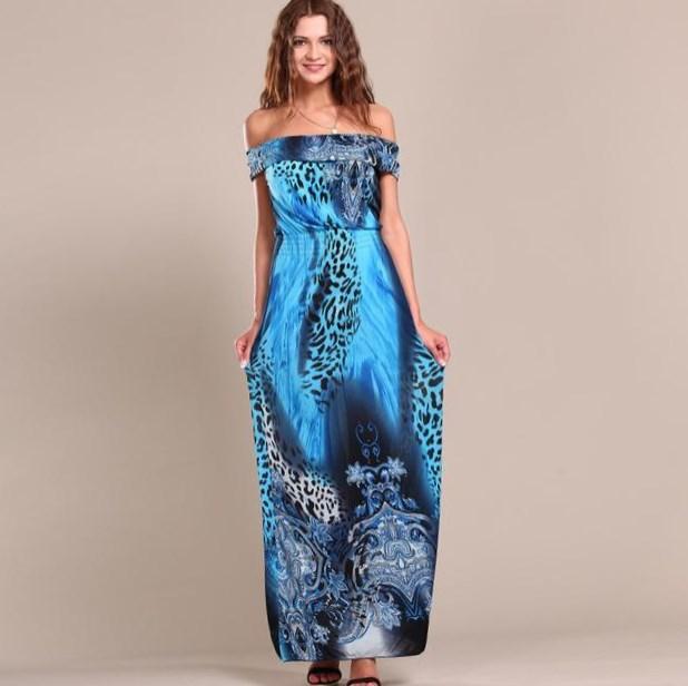 Floor length maxi dress plus size