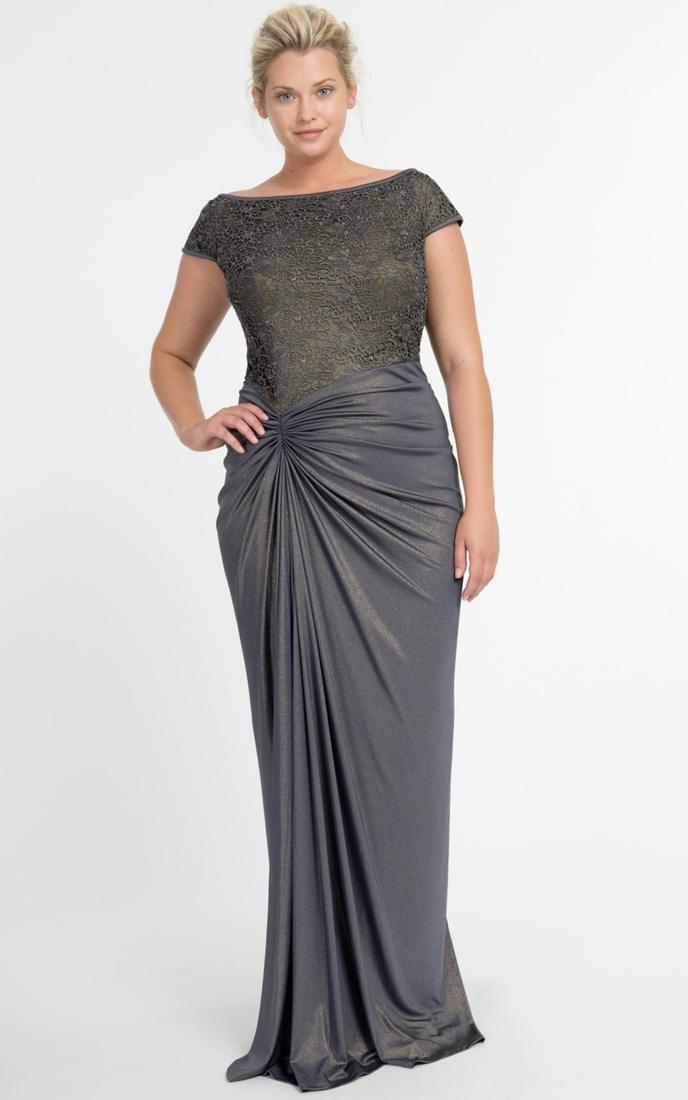 Plus size dress top - PlusLook.eu Collection