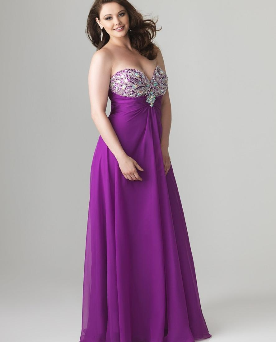Adrianna Papell Plus Size Embellished Evening Gown