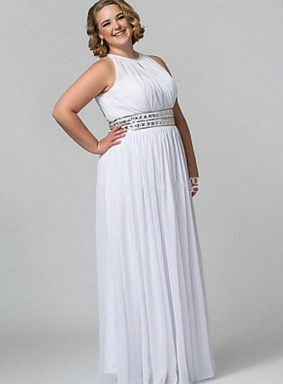 Plus Size White Summer Dress Peopledavidjoel