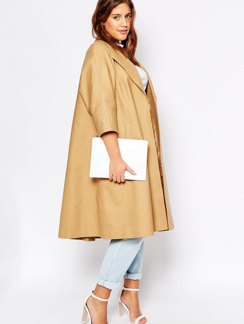 Plus size coat dress - PlusLook.eu Collection