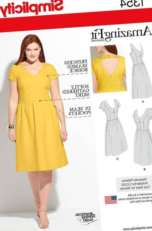 Plus Size Dress Patterns To Sew Cheap Party Dresses
